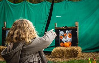 Halloween Pumpkin Shooting with New Forest Activities