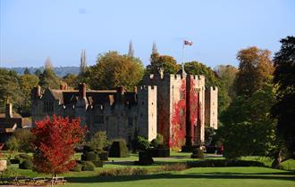 Autumn Colour at Hever Castle
