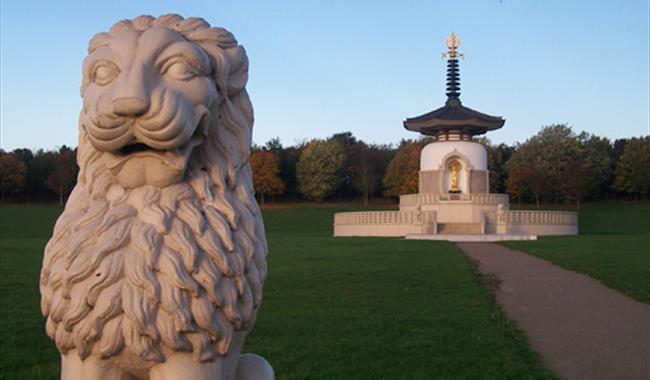The Peace Pagoda, Willen Lake