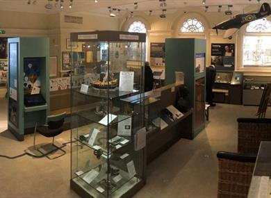 Windsor & Royal Borough Museum: inside the museum