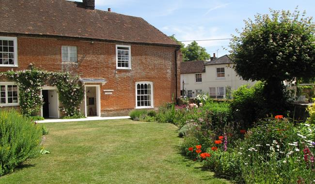 Jane Autsen's House in the Village of Chawton