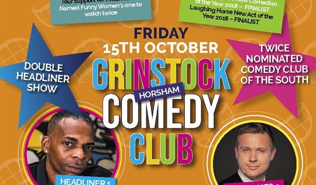 GRINSTOCK COMEDY CLUB @ Leonardslee Lakes & Gardens