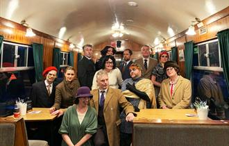 Murder Mystery Fish & Chip Supper on the Spa Valley Railway