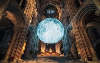 Museum of the Moon at Chichester Cathedral