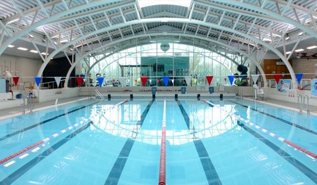 Windsor Leisure Centre pool