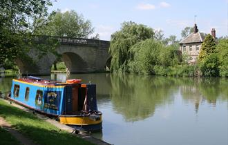Eynsham Lock, The River Thames, Oxfordshire Cotswolds