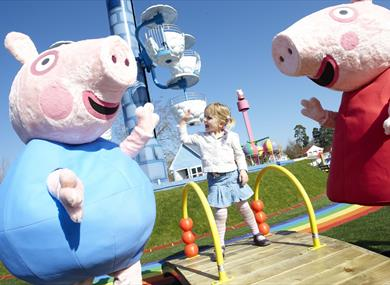 Paultons Theme Park Home of Peppa Pig World