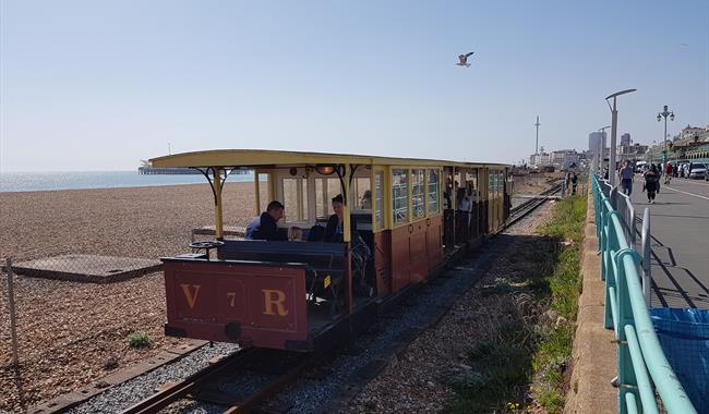 Volks Railway - railway on its way