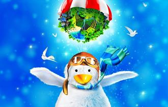 Alby the Penguin Saves the World
