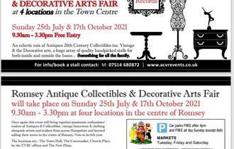 Antiques Collectible & Decorative Arts Fair