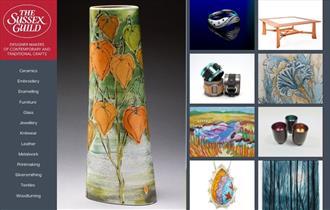 The Sussex Guild Contemporary Craft Show at De La Warr Pavilion