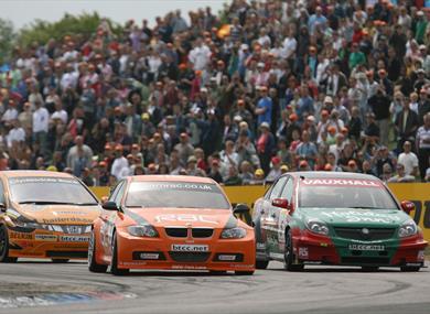 BTEC at Thruxton Circuit