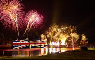 Leeds Castle Fireworks Spectacular