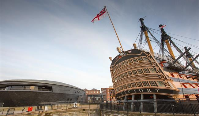 HMS Victory at Portsmouth Historic Dockyard