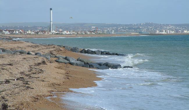 Part of Shoreham Beach