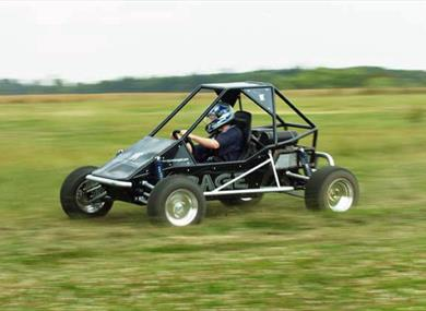 Off road buggy fun
