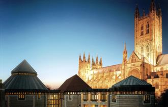 Canterbury Cathedral in Canterbury, Kent