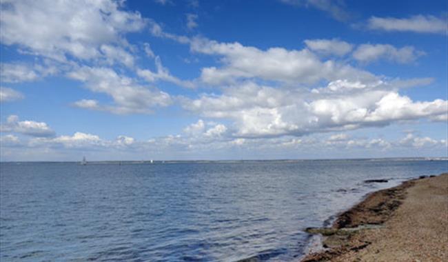 East Cowes Beach