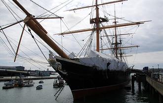 HMS Warrior at Portsmouth Historic Dockyard