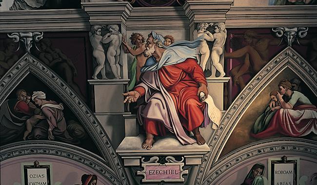 English Martyrs Church Goring - Sistine ceiling