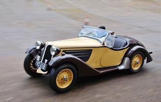 Brooklands Vintage Sports Car Club Driving Tests