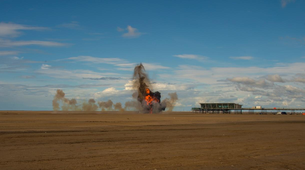 Beach Explosions