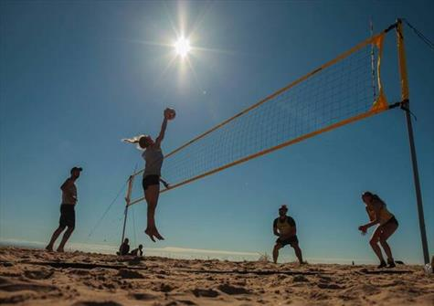 Beach Volleyball comes to Crosby this weekend