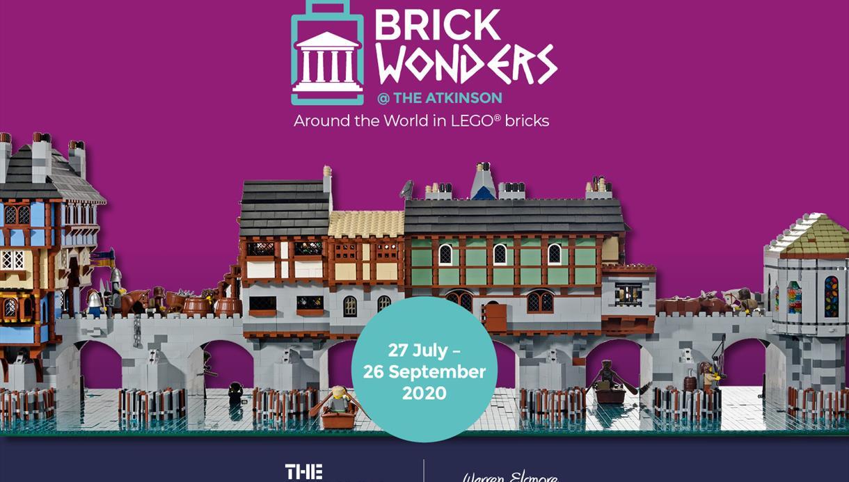 Brick Wonders: Around the world in LEGO bricks
