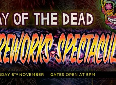Day of the Dead Southport Pleasureland fireworks