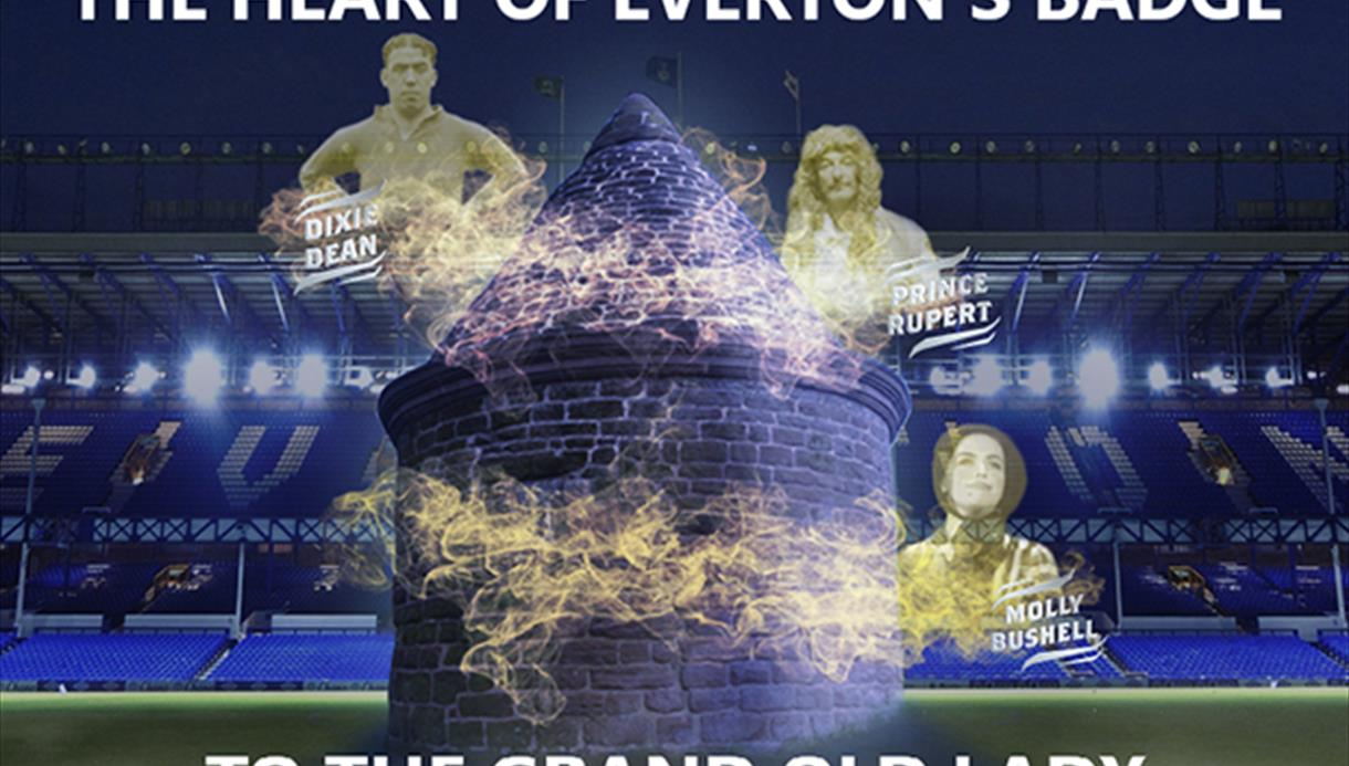 The Heart of Everton's Badge to the Grand Old Lady