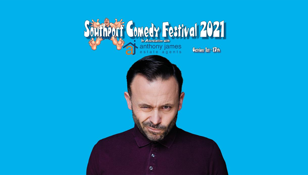 Geoff Norcott Southport Comedy Festival