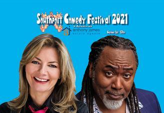 Reginald D Hunter and Jo Caulfield Southport Comedy Festival