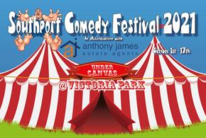 The Southport Comedy Festival Under Canvas
