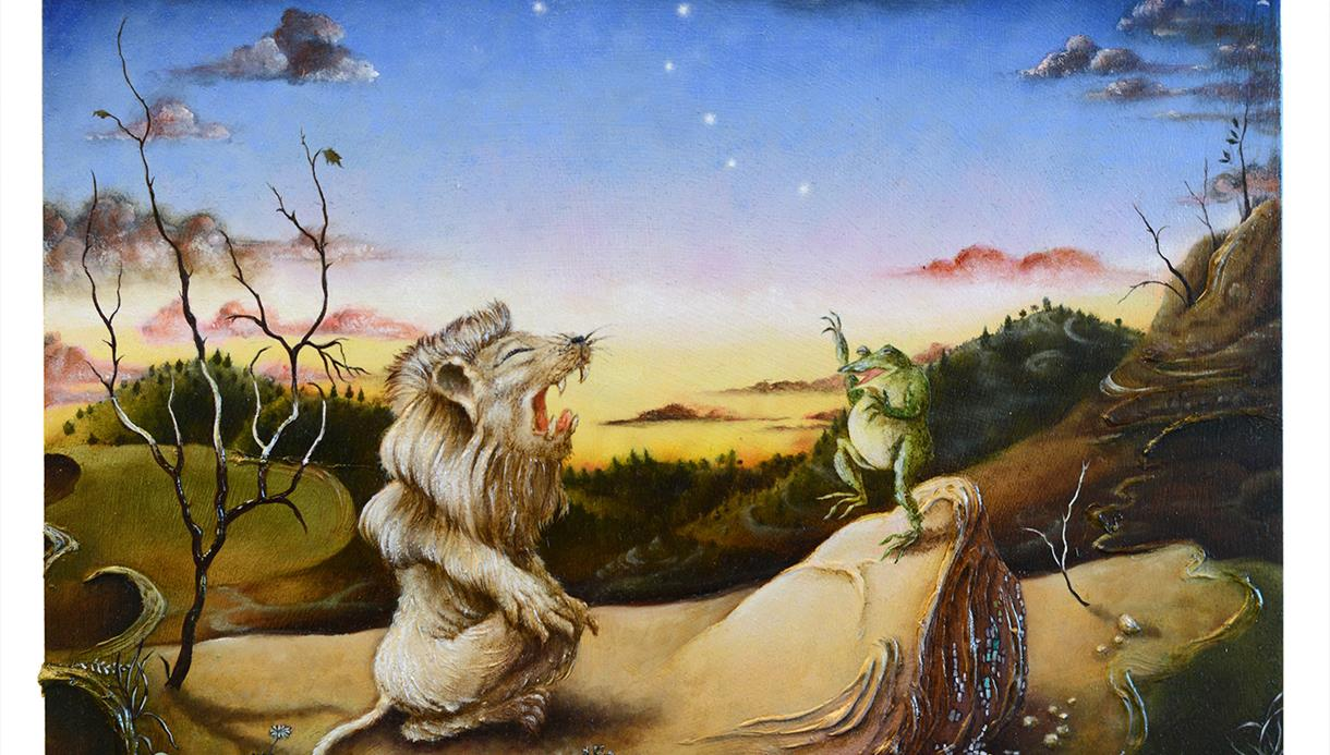 Painting by Rui Matsunaga