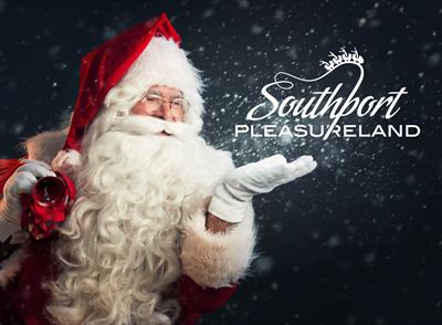 Santa grotto Southport Pleasureland