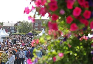 Southport Flower Show crowds at festival