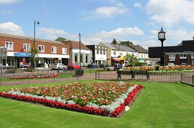 Towns & Villages around Cannock Chase