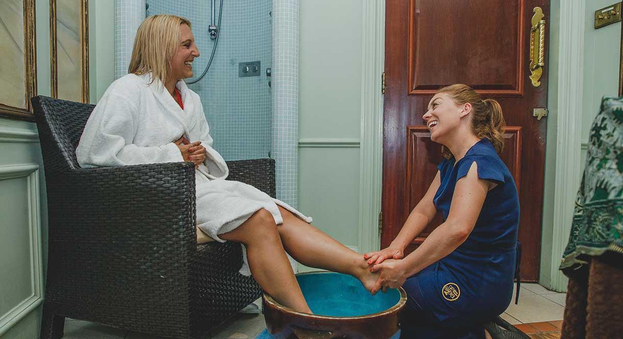 foot massage!