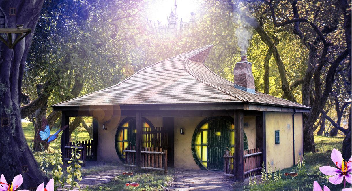 Alton Towers Enchanted Village Woodland Lodges