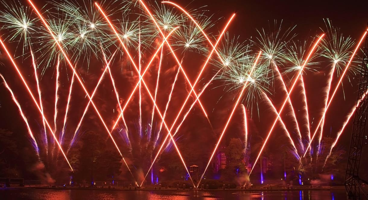 The ultimate fireworks display at Alton Towers Resort