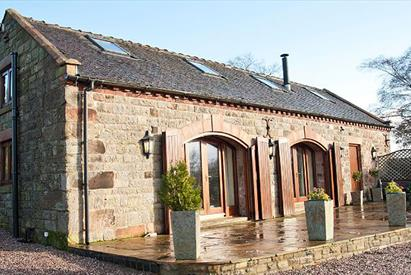 Ballfields Barn holiday cottage, Bradnop, Leek, Staffordshire.