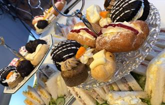 Afternoon tea in Staffordshire