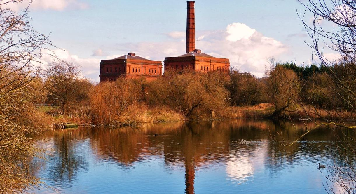 View outside of Claymill Pumping Station