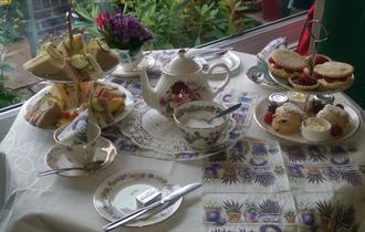 The Dorothy Clive Garden Tearoom