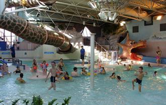 Splash pool at Dimensions