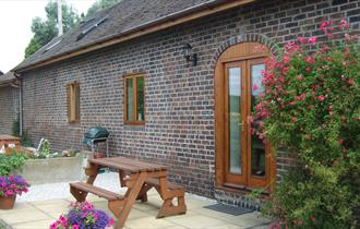Outside Donative Cottages
