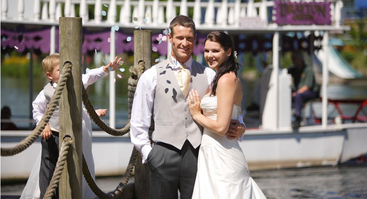 Weddings at Drayton Manor Park