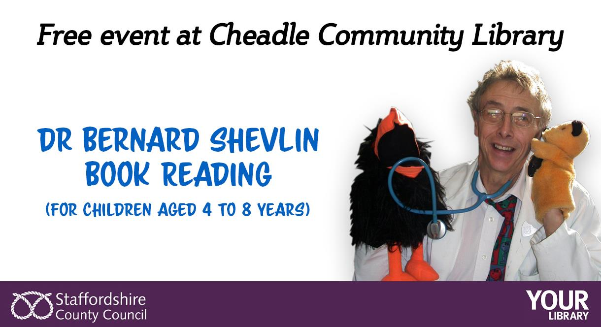 Free story telling event for Children at Cheadle Library
