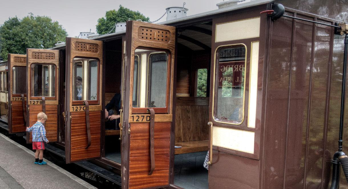 Come to Foxfield Railway and step back a century-and-a-half in time to ride the Knotty Heritage Train
