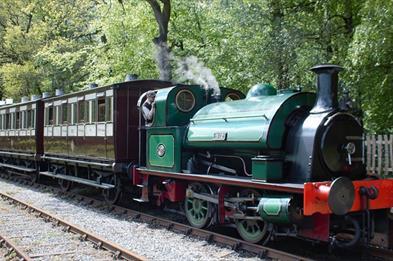 Foxfield Heritage Steam Railway, Blythe Bridge, Stoke-on-Trent, Staffordshire.